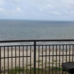 Balcony forward view